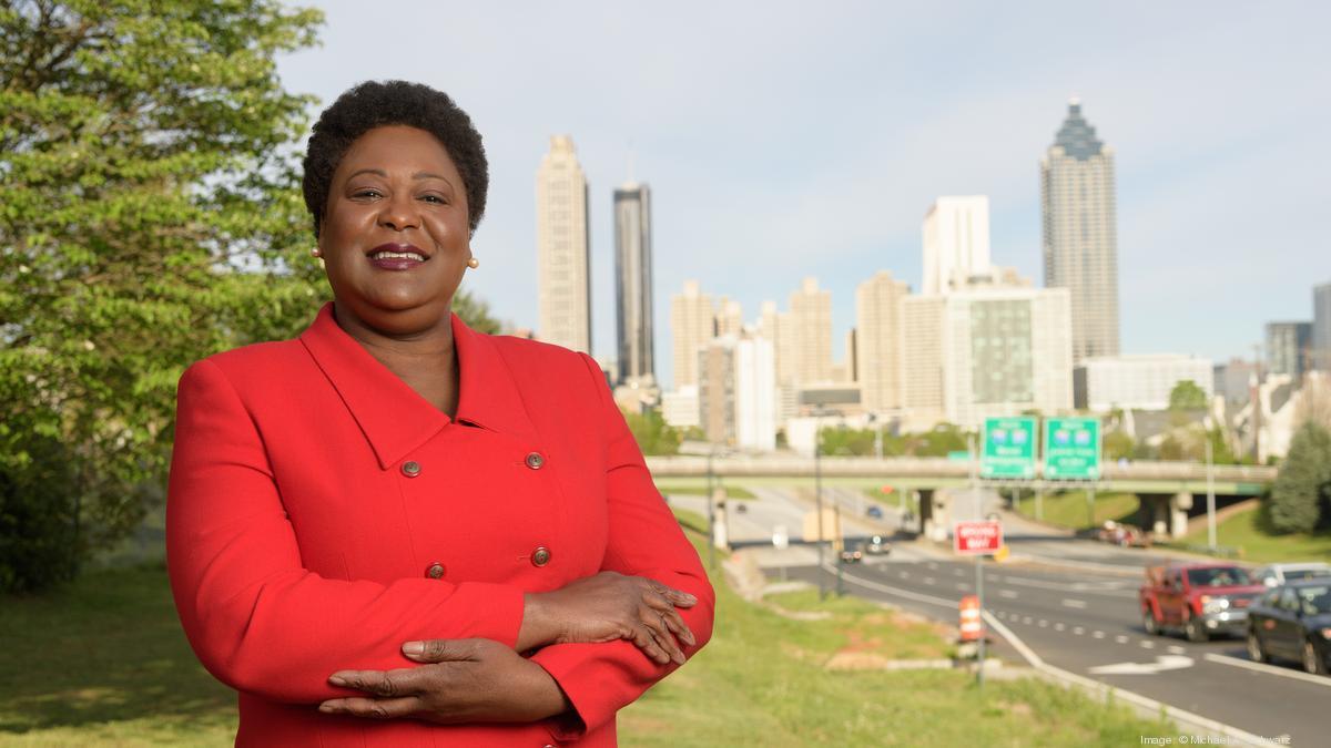 Atlanta City Council president Felicia A. Moore